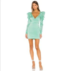 Lovers + Friends Isabella Dress in Teal